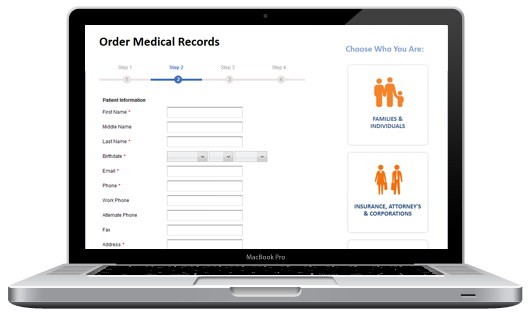 Order Medical Records Online