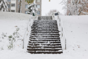 Winter Sees an Increase in Slip and Fall Cases