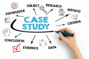 What are pharmaceutical case studies?